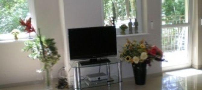Luksusowy Apartament Maria, położony 70 m od morza, o powierzchni 50 m2.  2 pokoje: sypialnia i salon z aneksem kuchennym, z łazienka, położony w zaciszu drzew przy lesie, słoneczny.  W pełni wyposażony. ...
